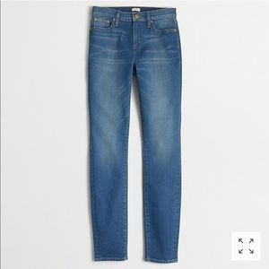 JCrew Factory High Rise Daisy Wash Jeans